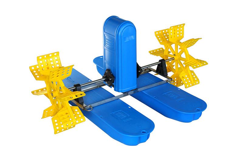 2叶四键水车式增氧机