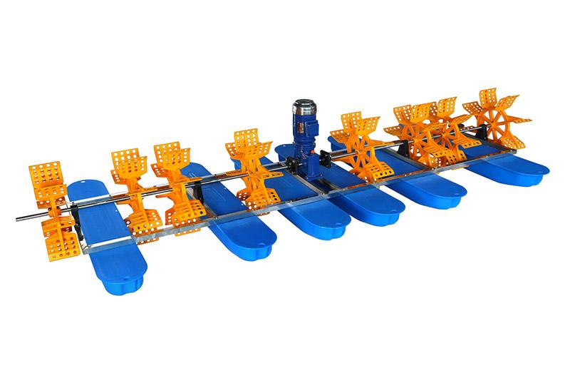 8叶9键水车式增氧机