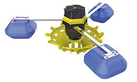 水车式增氧机配件