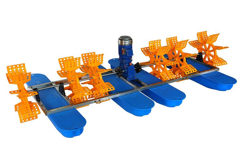 6叶9键水车式增氧机
