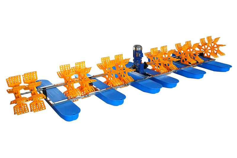 12叶9键水车式增氧机
