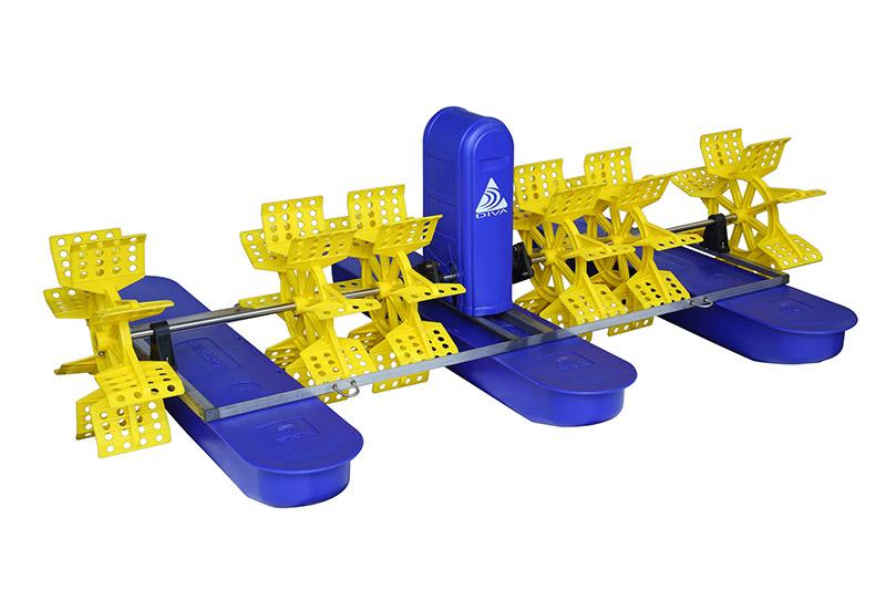 4叶9键水车式增氧机
